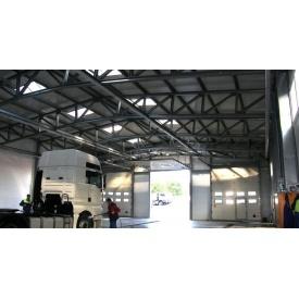 Будівництво СТО з металоконструкцій