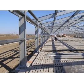 Строительство выставочного павильона из металлоконструкций