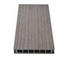 Террасная доска Gamrat без браширования 25х160х2400 мм темно-коричневый