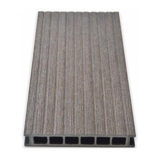 Террасная доска Gamrat брашированная 25х160х2400 мм темно-коричневый