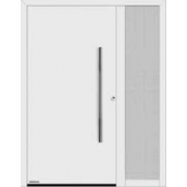 Бічний елемент двері Hormann Thermo 65 400х2100 мм RAL 7016 сірий антрацит