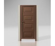 Хвіртка ALUTECH Prestige фільонка 1000х2000 мм шоколад RAL8017