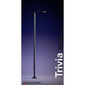 Стовп вуличного освітлення Pillar Electric Трівія 100 Вт металевий