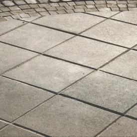 Тротуарна плитка Золотий Мандарин Плита 400х400х60 мм сірий