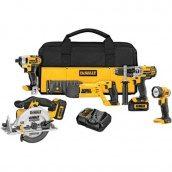 Набір інструментів DEWALT DCK592L2 20V MAX Premium 5-Tool Combo Kit