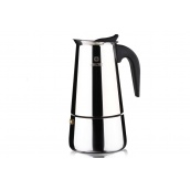 Гейзерна кавоварка VINZER Moka Inox Induction 9 чашок 55 мл (89393)