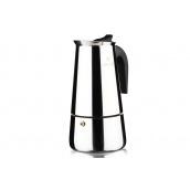 Гейзерна кавоварка VINZER Moka Inox Induction 4 чашки по 55 мл (89391)