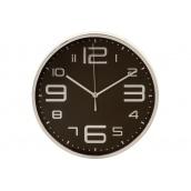 Настінні годинники ATMOSPHERA чорні з сріблом (114690)