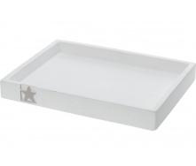 Піддон KOOPMAN з сірої зірочкою 24x18x3 см (APF420080)