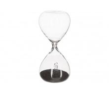 Годинник пісочний ATMOSPHERA чорні на 5 хвилин 4,8x4,8x10,3 см (150678-black)
