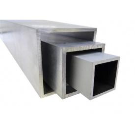 Труба алюминиевая квадратная 80х80х2 мм АД31Т5 профильная
