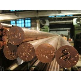 Круг мідний пруток М1 25х3000 мм