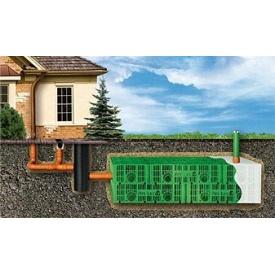 Днище к дренажному блоку PipeLife STORMBOX для сбора дождевой воды 1200x600 мм