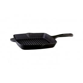 Сковорода-гриль VINZER Cast Iron Line 26x26 см (89521)
