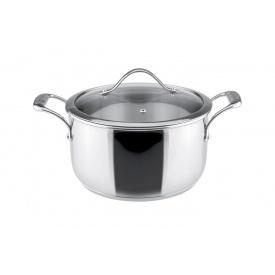 Кастрюля с крышкой VINZER Chef диаметр 24 см 5,8 л (89074)