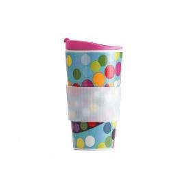 Чашка FRENCHBULL Bindi с рисунком фарфоровая 470 мл (969932)