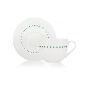 Чайная чашка с блюдцем DUKA Felicia Dots (1212762)