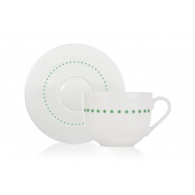 Чайная чашка с блюдцем DUKA Felicia Dots (1212763)