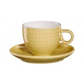 Чашка для еспрессо з блюдцем ASA Voyage 80 мл (15011207)