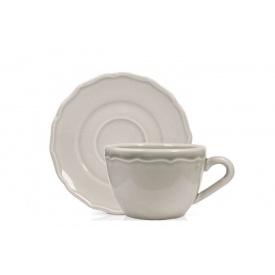 Чашка для чая DUKA Emma серая маленькая 200 мл (1212536)