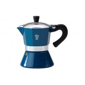 """Гейзерная кофеварка PEZZETTI """"Bellexpess"""" с индукционным дном на 6 чашек (1359-09060)"""