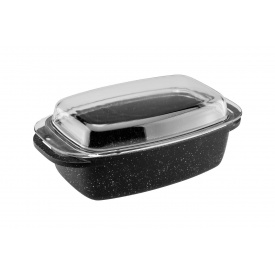 Гусятница с крышкой VINZER Premium Granite Induction Line 5,6 л (89457)