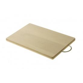 Доска разделочная PRACTIC деревянная c металлической ручкой (9720)