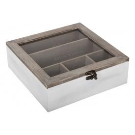 Коробка для хранения ATMOSPHERA spring garden 24х25х8 см (156879-2)