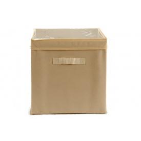 Ящик для хранения ARTE REGAL нетканный бежевый 31x31x31 см (22008-2)