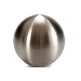 Стальной шарик ARTE REGAL матовый 14,5x14,5x14,5 см (22473)