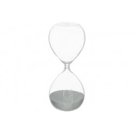 Часы песочные ATMOSPHERA серые на 30 минут 8,5x8,5x20 см (150677-gray)