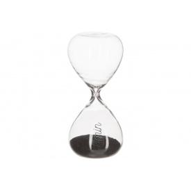 Часы песочные ATMOSPHERA черные на 5 минут 4,8x4,8x10,3 см (150678-black)