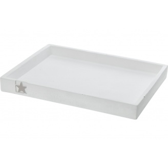 Піддон KOOPMAN з сірою зірочкою 32x24x3,5 см (APF420100)
