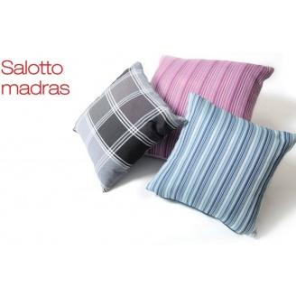 Подушка декоративна GEMITEX Madras сіра 60х60 см (54005-Grey)