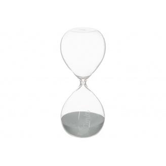 Годинник пісочний ATMOSPHERA сірі на 30 хвилин 8,5x8,5x20 см (150677-gray)