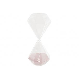 Годинник пісочний ATMOSPHERA рожеві на 60 хвилин 10x10x25 см (150674-pink)