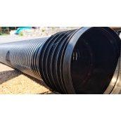 Гофрована Труба каналізаційна діаметр 110 мм 6 м