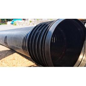 Труба канализационная гофрированная диаметр 110 мм 6 м