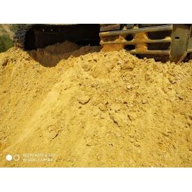 Песок строительный навалом