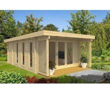 Дом деревянный из профилированного бруса 5.2х6.7