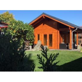 Дом деревянный из профилированного бруса 5.6х4.5