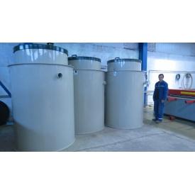 Автономная канализация Оазис Стандарт-35 2250х3450 мм