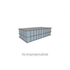 Компенсационная емкость для переливных бассейнов 6,0x3,0x1,5 м