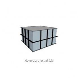 Компенсационная емкость для переливных бассейнов 3,0x3,0x1,5 м