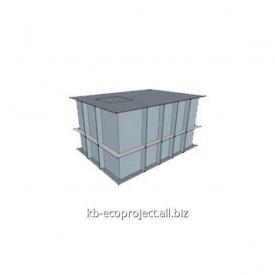 Компенсационная емкость для переливных бассейнов 2,44x2,44x1,22 м
