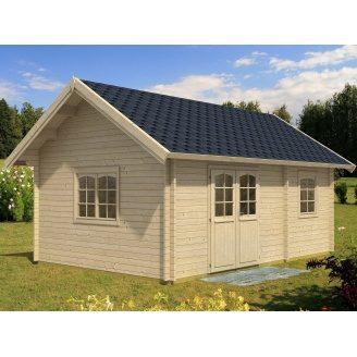 Дом деревянный из профилированного бруса 6х4.1