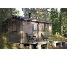 Дом деревянный из профилированного бруса 2.2х4.2