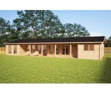 Будинок дерев`яний з профільованого бруса 7х18