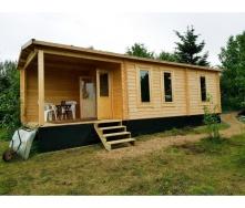 Дом деревянный из профилированного бруса 9х3