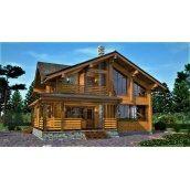 Дерев`яний будинок з профільованого бруса 13х11 м